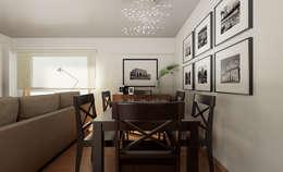 minimalistic Dining room by José Tiago Rosa