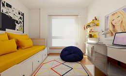 Apartamento Ikea: Quartos de criança minimalistas por José Tiago Rosa