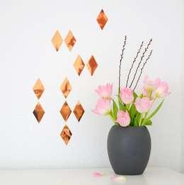 Projekty,  Ściany i podłogi zaprojektowane przez Lovely Bird Designstore