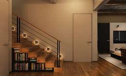 he.d creative groupが手掛けた玄関・廊下・階段