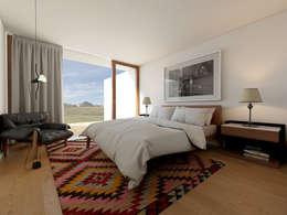 moderne Slaapkamer door José Tiago Rosa