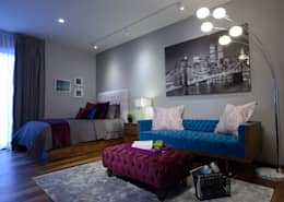 modern Bedroom by VICTORIA PLASENCIA INTERIORISMO