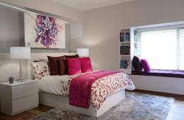 Dormitorios de estilo  por VICTORIA PLASENCIA INTERIORISMO