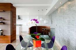 Comedores de estilo moderno por VODO Arquitectos