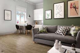 modern Living room by info8258