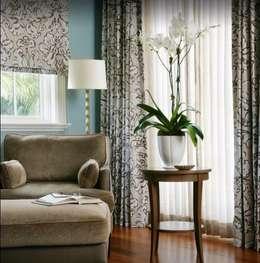 modern Living room by INTERIOR ART