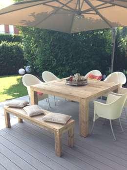 Projekty,  Ogród zaprojektowane przez Tischlerei Charakterstück