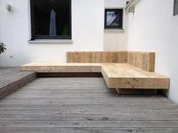 Jardin de style de style Moderne par Tischlerei Charakterstück