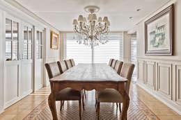 ESPAÇO JANTAR: Salas de jantar clássicas por UNION Architectural Concept