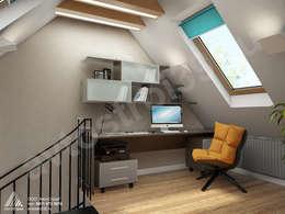 Estudios y oficinas de estilo industrial por homify
