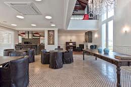 SALÃO DE FESTAS: Salas de jantar clássicas por UNION Architectural Concept