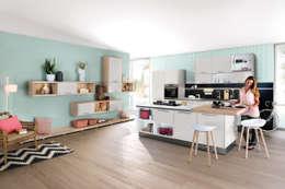 Projekty,  Kuchnia zaprojektowane przez Häcker Küchen