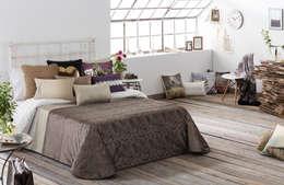 Dormitorios de estilo moderno por Decoraciones Gladys