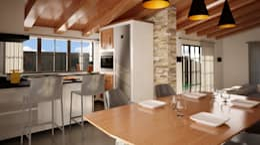 Cocinas de estilo  por IA-Ingegneria e Architettura_Noemi Manzella