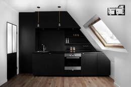 modern Kitchen by GALI Sulukjian Architecte