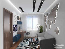Кабинет: Рабочие кабинеты в . Автор – Giovani Design Studio