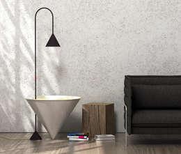Salas/Recibidores de estilo minimalista por Simon Evrard