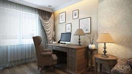 minimalistic Study/office by студия визуализации и дизайна интерьера '3dm2'