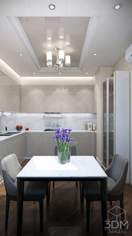 Проект 030: интерьер частного дома: Кухни в . Автор – студия визуализации и дизайна интерьера '3dm2'