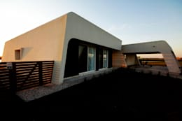Casas de estilo moderno por MiD Arquitectura