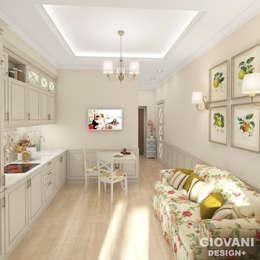 Городской прованс. Кухня: Кухни в . Автор – Giovani Design Studio