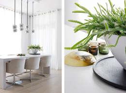 Appartement aan Zee: moderne Eetkamer door Grego Design