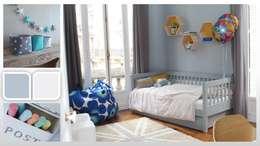 Appartement - Paris 8: Chambre d'enfant de style de style Moderne par ARCHITECTURAL DECO