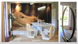 Maison - le Vésinet: Salle à manger de style de style Moderne par ARCHITECTURAL DECO