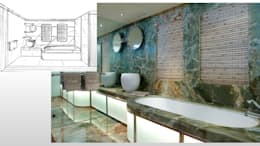 Ванные комнаты в . Автор – ARCHITECTURAL DECO