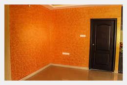 Villa at Appa Junction, Hyderabad.:  Artwork by Happy Homes Designers