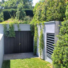 Jardines de estilo moderno por BERND WALDVOGEL LANDSCHAFTSARCHITEKTUR