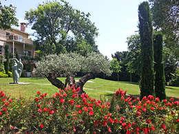 Projekty,  Ogród zaprojektowane przez Land Design Factory