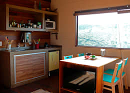 ห้องครัว by Cabana Arquitetos