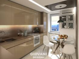 minimalistic Kitchen by Giovani Design Studio