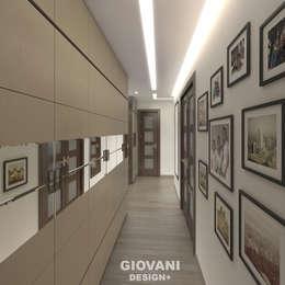 Квартира для молодой семьи: Коридор и прихожая в . Автор – Giovani Design Studio