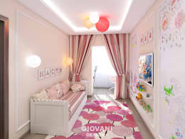 minimalistic Nursery/kid's room by Giovani Design Studio