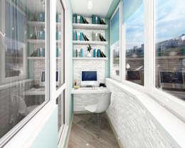 مكتب عمل أو دراسة تنفيذ Лето Дизайн