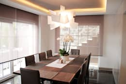 BUJU DESIGN – H Evi Beykoz: modern tarz Yemek Odası