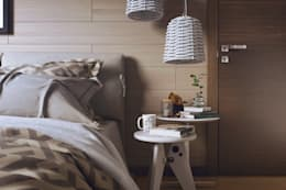 eclectic Bedroom by Дарья Баранович Дизайн Интерьера