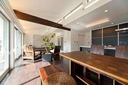 大人が遊べる家 ダイニング: フォーレストデザイン一級建築士事務所が手掛けたです。