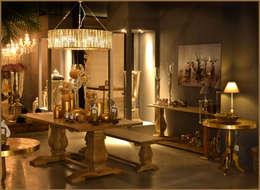 country Dining room by Groothandel in decoratie en lifestyle artikelen