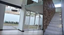 modern Media room by TREVINO.CHABRAND | Architectural Studio