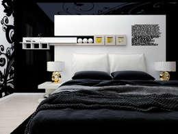 Fesselnd Black Is Beautiful: Luxuriöses Schwarz Für Schlafzimmerwände. Moderne  Schlafzimmer ...