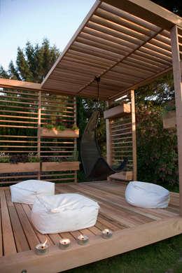 Jardines de estilo moderno por ecospace españa