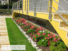 Casas de estilo rústico por SOLE ATELIER, LDA