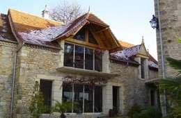 Projet Dordogne: Maisons de style de stile Rural par Agence Inside DECO