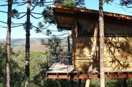 Casas de estilo rústico por Cabana Arquitetos