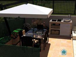 Terras door 3d Casa Design
