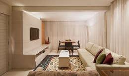 modern Living room by Dubal Arquitetura e Design