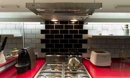 COCINA - SyP: Cocinas de estilo moderno por Vorm